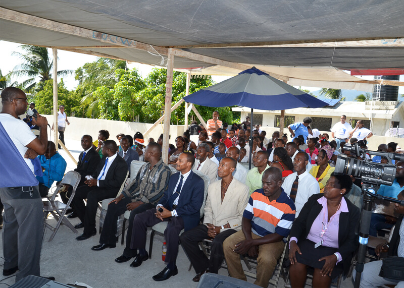 Hope International Missionary Guest House  of Haiti (HIMGHOH) Inauguration